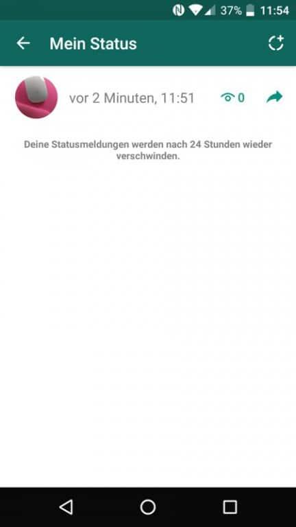 Whatsapp Neue Status Funktion Ist Verfügbar