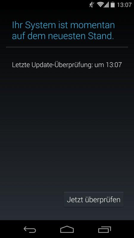Nexus 5 ist auf dem neuesten Stand und wartet auf Android 5.0
