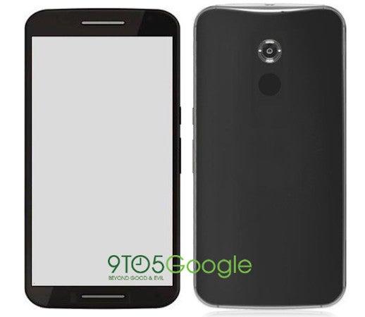 Nexus 6 Mockup-Bild