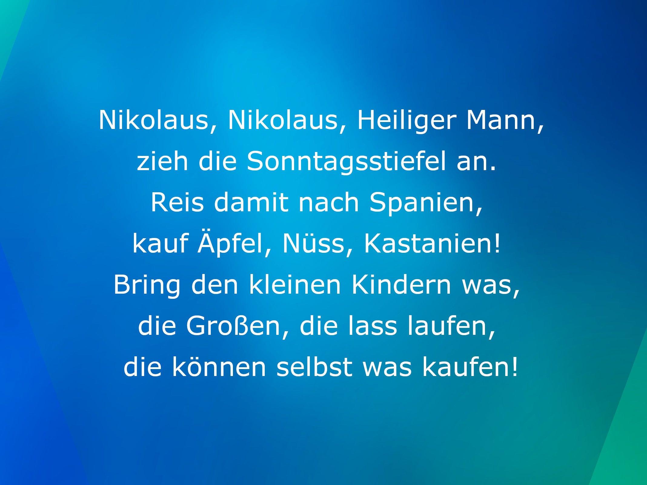 Whatsapp Die Besten Und Lustigsten Spruche Zu Nikolaus