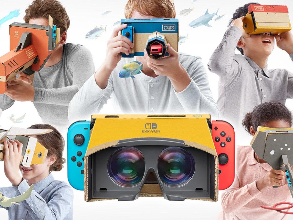 Das Nintendo Labo VR-Set