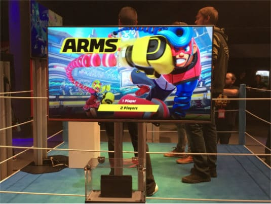 Nintendo Switch Arms Berlin