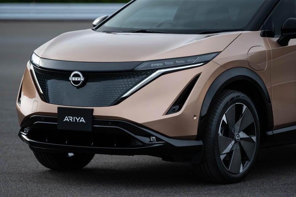 Nissan Ariya Vorderseite