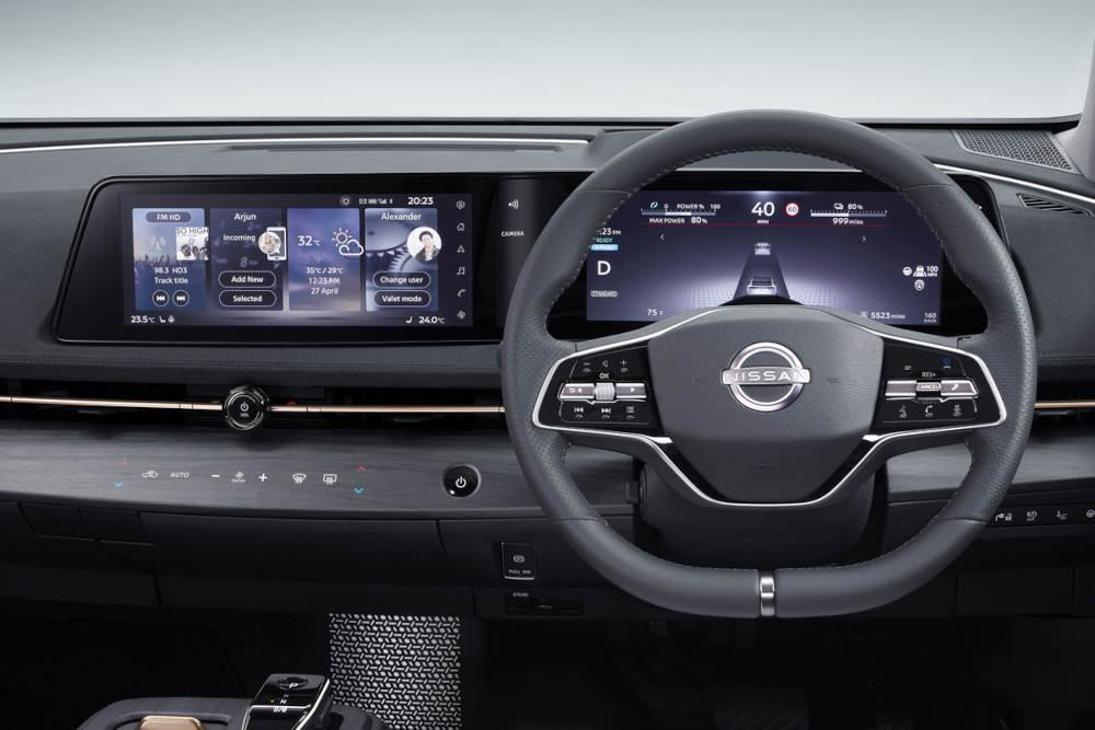 Nissan Ariya Interieur