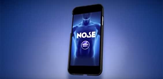 Das riechende Smartphone: Nose-App von Nivea Men