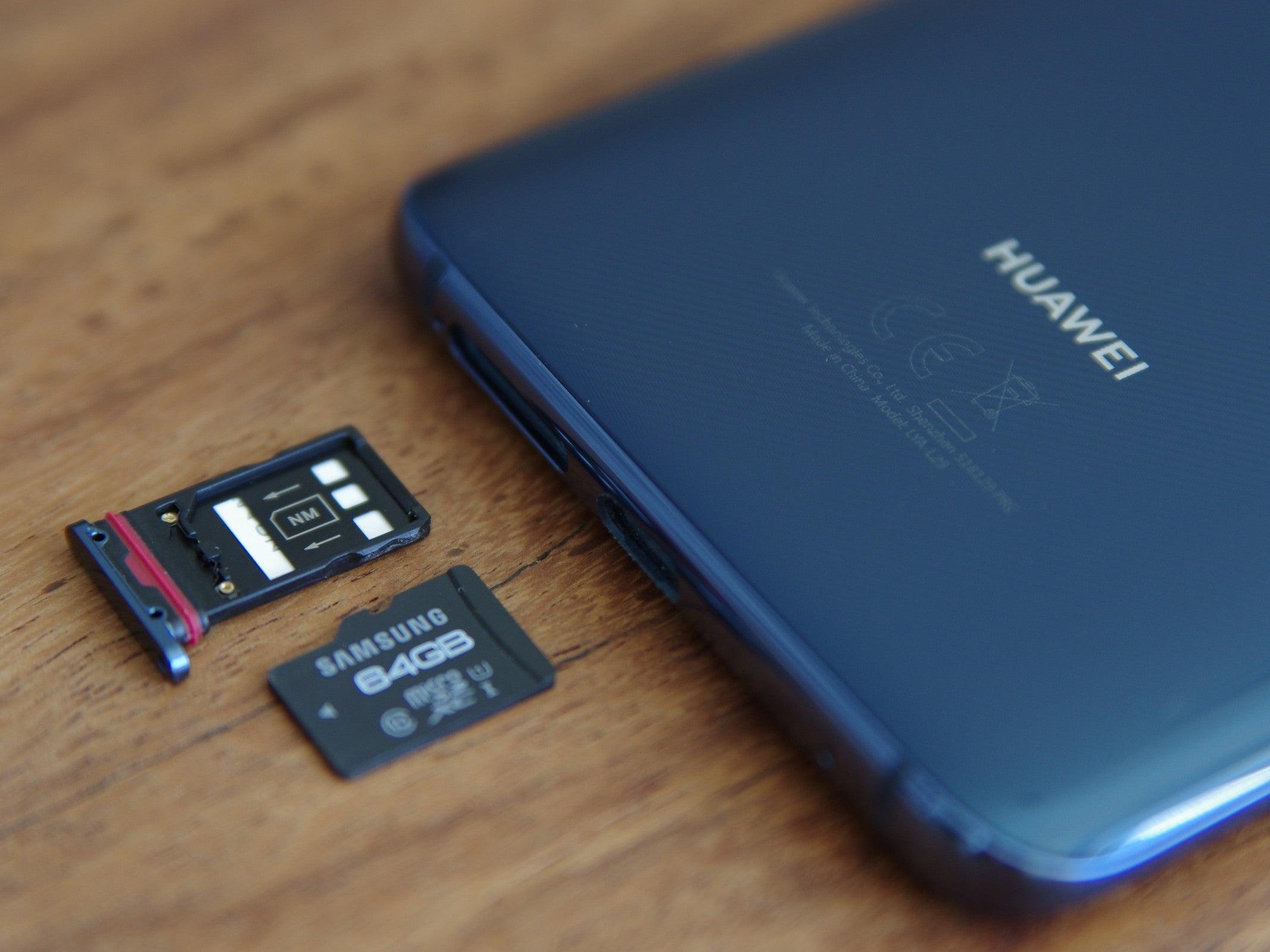 NM Card: Darum verzichtet Huawei auf die MicroSD-Speicherkarte