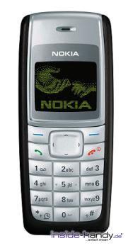 Nokia 1110 Datenblatt - Foto des Nokia 1110