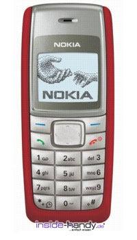 Nokia 1112 Datenblatt - Foto des Nokia 1112