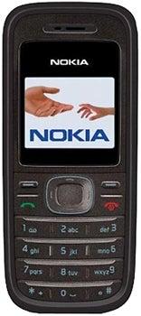 Nokia 1208 Datenblatt - Foto des Nokia 1208