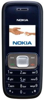 Nokia 1209 Datenblatt - Foto des Nokia 1209