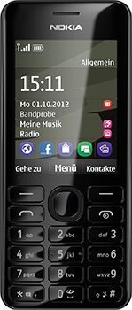 Nokia 206 Datenblatt - Foto des Nokia 206