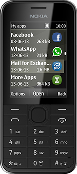 Nokia 208 Datenblatt - Foto des Nokia 208