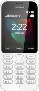 Nokia 222 Datenblatt - Foto des Nokia 222