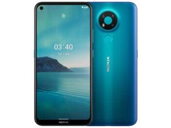 Nokia 3.4 Vorderseite und Rückseite