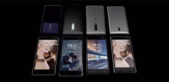 Nokia 3, Nokia 5, Nokia 7, Nokia 8