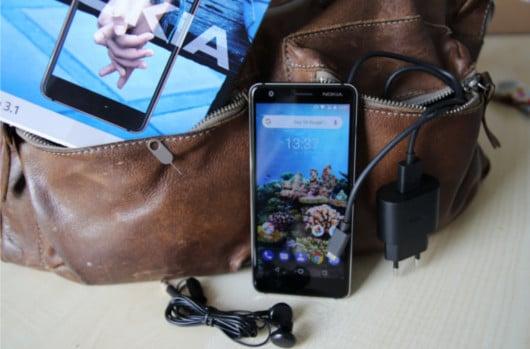 Nokia 3.1 im Test Unboxing