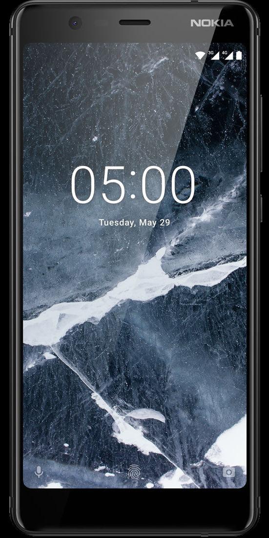 Nokia 5.1 Schwarz Front