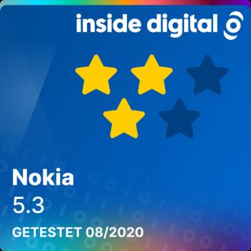 Nokia 5.3 Testsiegel