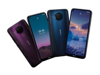 Das Nokia 5.4 in allen Farb-Varianten