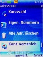 Nokia 5300 Xpress Music: Adressbuch