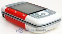 Nokia 5300 Xpress Music: Draufsicht links unten