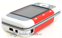 Nokia 5300 Xpress Music: Draufsicht oben links