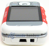 Nokia 5300 Xpress Music: Draufsicht oben