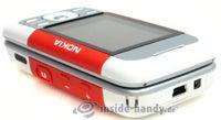 Nokia 5300 Xpress Music: Draufsicht rechts oben