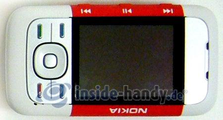 Nokia 5300 Xpress Music: Draufsicht