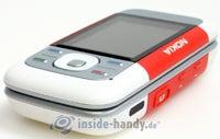 Nokia 5300 Xpress Music: Draufsicht unten rechts