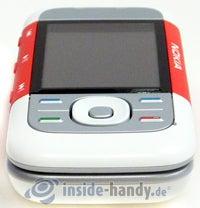 Nokia 5300 Xpress Music: Draufsicht unten