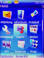 Nokia 5300 Xpress Music: Hauptmenü