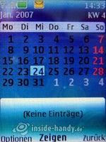 Nokia 5300 Xpress Music: Kalender