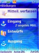 Nokia 5300 Xpress Music: Mitteilungen
