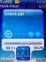 Nokia 5300 Xpress Music: Musik-Player