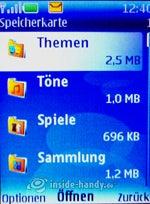Nokia 5300 Xpress Music: Speicherkarte