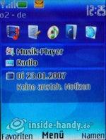 Nokia 5300 Xpress Music: Startbildschirm