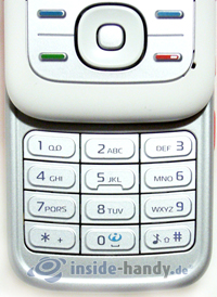 Nokia 5300 Xpress Music: Tastatur