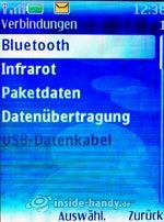 Nokia 5300 Xpress Music: Verbindungen