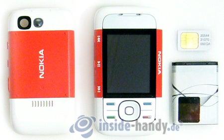 Nokia 5300 Xpress Music: zerlegt in Bestandteile