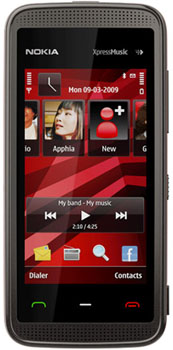 Nokia 5530 XpressMusic Datenblatt - Foto des Nokia 5530 XpressMusic