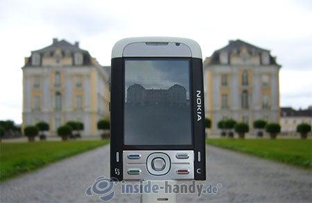 Nokia 5700 XpressMusic: beim Fotografieren