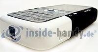 Nokia 5700 XpressMusic: Draufsicht links unten