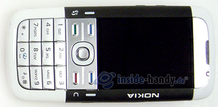 Nokia 5700 XpressMusic: Draufsicht