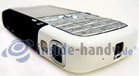 Nokia 5700 XpressMusic: Draufsicht unten rechts