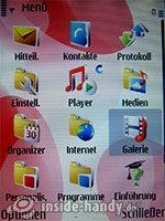 Nokia 5700 XpressMusic: Hauptmenü