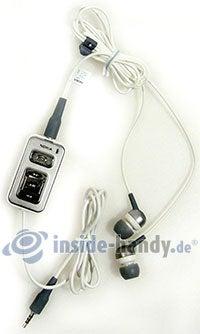 Nokia 5700 XpressMusic: Headset