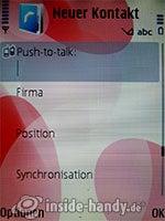 Nokia 5700 XpressMusic: Kontakt