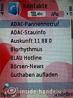 Nokia 5700 XpressMusic: Kontakte