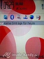 Nokia 5700 XpressMusic: Startbildschirm